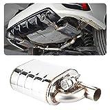 Valvola di scarico elettrica per auto, tubo della pompa del vuoto del dispositivo della porta remota universale in acciaio inossidabile da 63 mm Silenziatore variabile