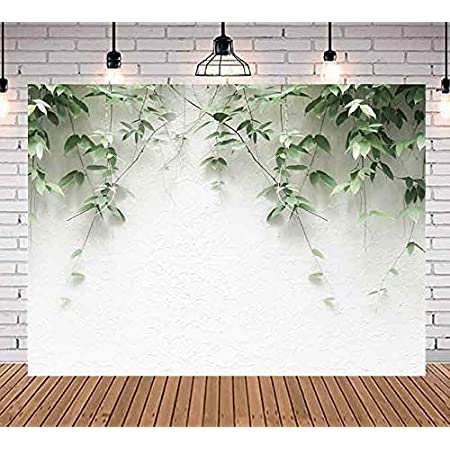 Leaves 6x8 FT Backdrop Photographers,Hand Drawn Colorful Foliage Composition Motifs from Cultures Illustration Background for Baby Shower Birthday Wedding Bridal Shower Party Decoration Photo Studio