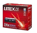 LiteOn iHAS324-17 - Grabadora de DVD interna (24x, SATA, DVD-RW), negro