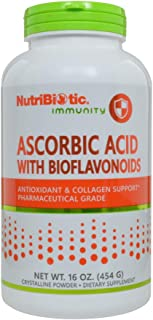Nutribiotic Ascorbic Acid Powder with Bioflavonoids, 16 Ounce