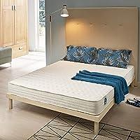 Naturalex | Soft Sensation | Colchón Viscoelástico 80x200 cm | con Látex y Memory de Alta Densidad | Grosor 15 cm | H2 | Ergonómico con 7 Zonas Confort e Hipoalergénico