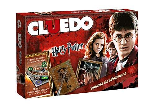 CLUEDO - die Welt von Harry Potter Sonderedition mit magischen Extras! Detektiv-Brettspiel | Gesellschaftsspiel | Familienspiel | Brettspielklassiker |