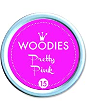 WOODIES® Stamp Pad Ink Tin, Pretty Pink (072042)