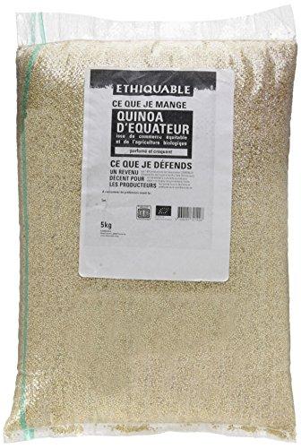 Ethiquable Quinoa Equateur Equitable et Bio 5 kg Paysans Producteurs