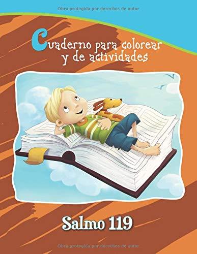 Salmo 119 - Cuaderno para colorear y de actividades: 14 versículos clave para niños: Volume 10 (Capítulos de la Biblia para niños)