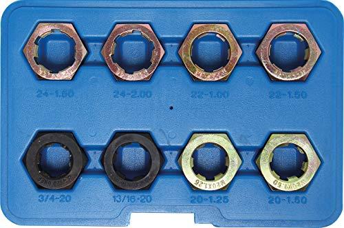 BGS 1141 | Gewinde-Reparatursatz für Antriebswellen, Gelenkwellen | 8-tlg.