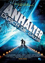 The Hitchhiker's Guide to the Galaxy Movie Poster (27 x 40 Inches - 69cm x 102cm) (2005) German -(Martin Freeman)(Mos Def)(Sam Rockwell)(Zooey Deschanel)(Bill Nighy)(Warwick Davis)