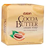 dalan Kakaobutter Cremeseife Seife Stückseife 3x125g. (gesamt 375 g.)