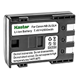 Kastar Battery for Canon NB-2LH NB-2L NB2LH NB2L BP2L and Canon Elura 85 90 MV800 800i 900 920 EOS 350D 400D PowerShot G7 G9 S70 S80 R100 R11 Camera