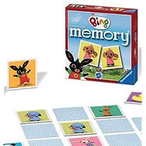Ravensburger Bing Bunny - Gioco di Memoria, in Formato Mini
