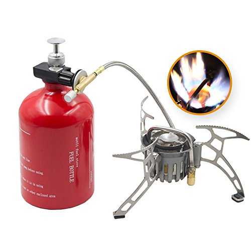 APG Portable Camping Stove Oil/Gas Multi-Use Gasoline Stove 1000ml Picnic Cooker Hiking Equipment