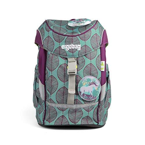 ergobag Mini Schniekalabim, ergonomic kids backpack, Kindergarten preschool, Turquoise