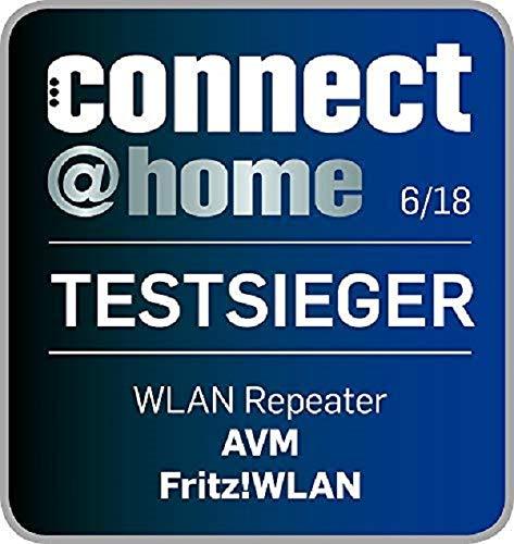 AVM FRITZ!WLAN Repeater 1750E – Dual-WLAN AC + N bis zu 1.300 MBit/s 5 GHz + 450MBit/s 2,4 GHz - 8