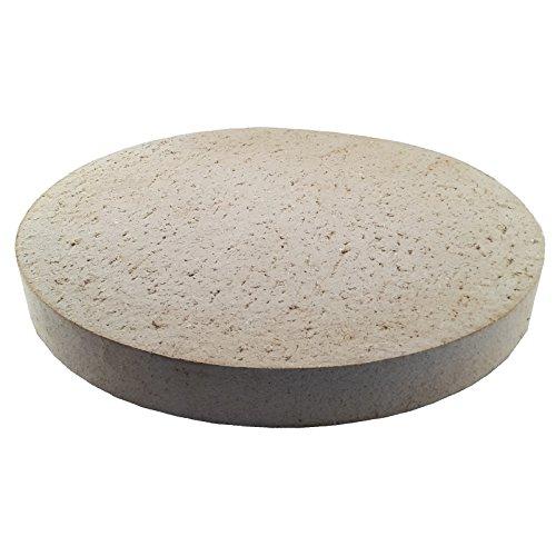 Pizzasteen broodbaksteen van vuurvaste vuurvaste stof, rond, Ø 260 mm, geschikt voor levensmiddelen, voor oven, grill, kogelbarbecue