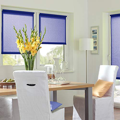 Kirsch Innovation - Elektrisches Rollo - 45x150 cm blau