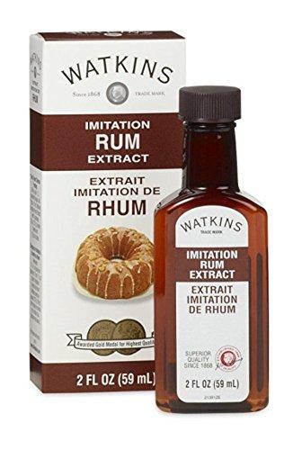 Imitation Rum Extract 2 oz