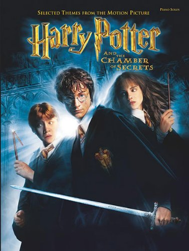 Harry Potter and the Chamber of Secrets: Selected Themes from the Motion Picture - Piano Solos: Piano Solos (Includes Souvenir Poster), Book & Poster (English Edition)