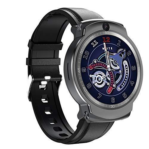 COSCANA Reloj Inteligente Desbloqueo Facial 1.6'Pantalla Táctil Completa 3G + 32G 4G Red WiFi Pulsera Deportiva Monitor De Ritmo Cardíaco Rastreador De EjerciciosBlack Belt