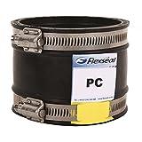 DC115 Flexseal Ablaufverbindung mit Au/ßendurchmesser von 100 mm bis 115 mm auf beiden Seiten Rohrverbinder flexibles Gummi-Muffe-Reduzierst/ück
