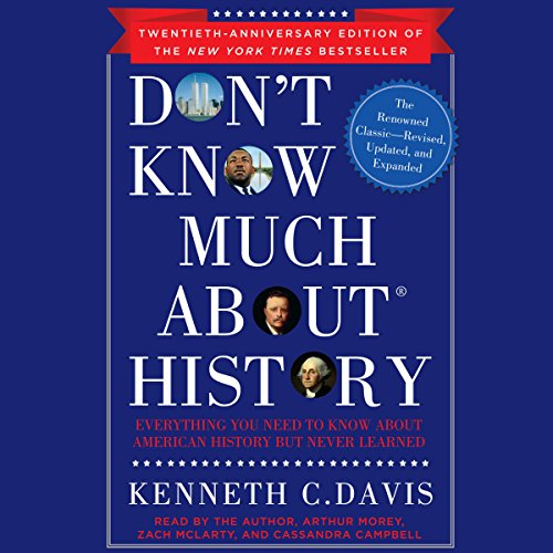 Don't Know Much About History, Anniversary Edition  By  cover art