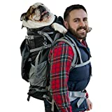 K9 Sport Sack   Rover 2 Dog Carrier Backpack for Small and Medium Pets   Front Facing Adjustable Dog Backpack Carrier   Fully Ventilated   Veterinarian Approved (X-Large, Rover 2 - Black)
