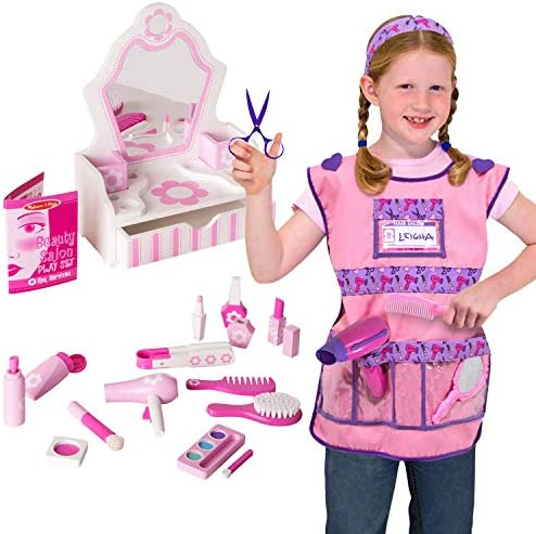 Melissa Doug Beauty Salon Hair Stylist Dress Up Set product image