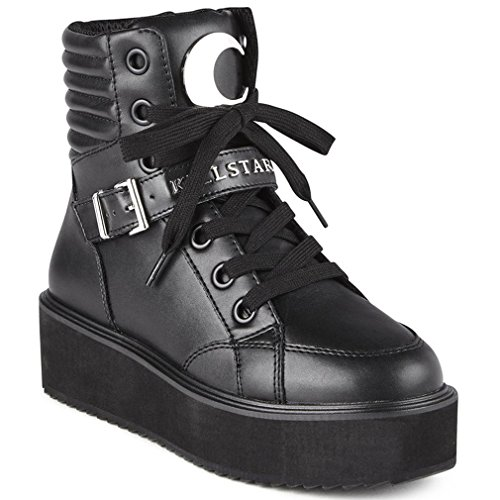Killstar Plateauschuhe - Luna High Top Sneakers 42
