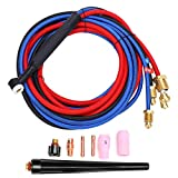 TIG Welding Torch, 250A Water‑cooled Argon Arc Welding Torch Welder Equipment Accessories Electronic Tools WP20