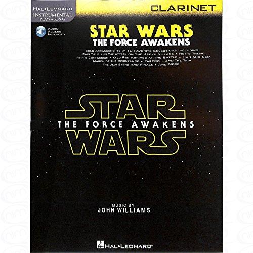 Star Wars–Episode 7(The Force Awakens)–Arreglados para clarinete [de la fragancia/Alemán] Compositor: Williams John de la serie: Violín Play Along