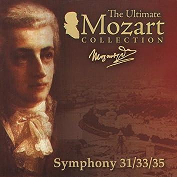 Mozart: Symphonies Nos. 31, 33 & 35