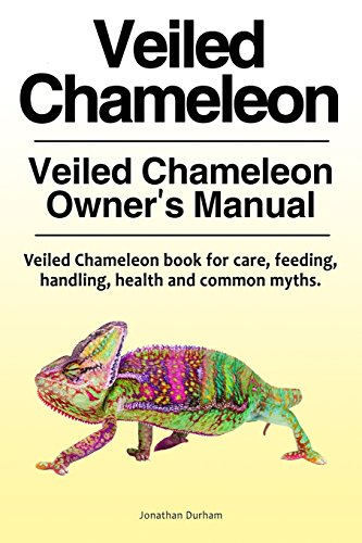 Veiled Chameleon . Veiled Chameleon Owner's Manual. Veiled Chameleon book for care, feeding, handling, health and common myths.