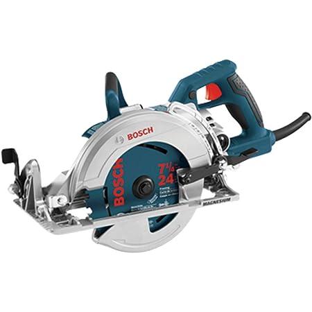 BOSCH 7-1/4-Inch Worm Drive Circular Saw CSW41, Blue