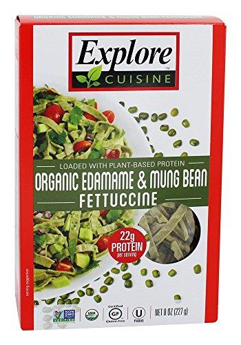 Explore Cuisine - Edamame organico & fagiolo verde Fettuccine - 8 Once