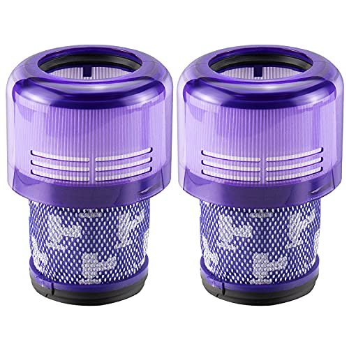 2-Pack Filter Replacements for Dyson Cordless Vacuum V11, V11 Torque Drive...