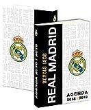 REAL MADRID-Agenda escolar, colección, 2015 y 2016-Estuche sco...
