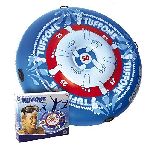 Tuffone Wassertrampolin Badeinsel XL 150 cm Lutftmatratze Wasserliege