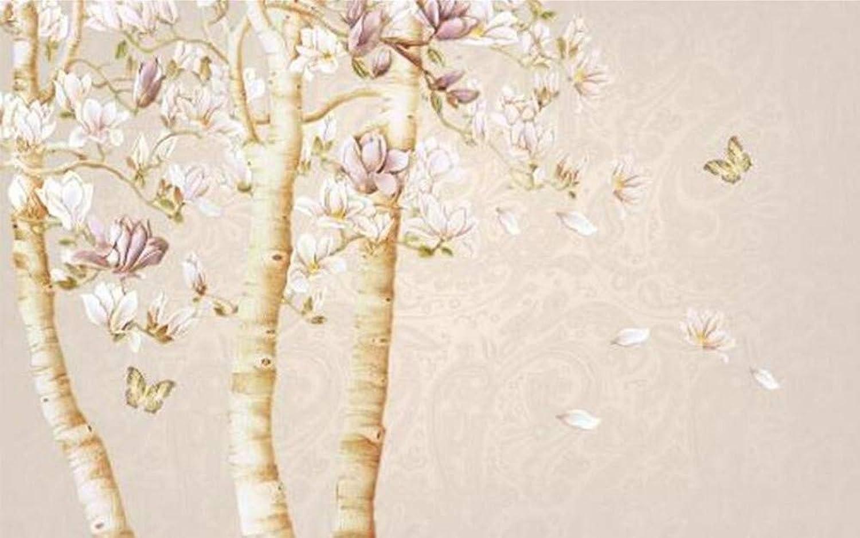 barato y de moda Mural 3D Fondos Fondos Fondos De Pantalla 3D Papel De Parojo Retro No Tejido Magnolia Valiosos Fondos De Pantalla Cálidos Para La Sala De Estar, 200 Cm X 140 Cm  minorista de fitness