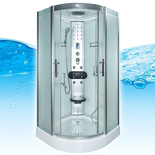 Acqua Vapore dtp8058–6012cabina de ducha de vapor (Templo ducha 100x 100XL 3000.00 wattsW, 230.00 voltsV