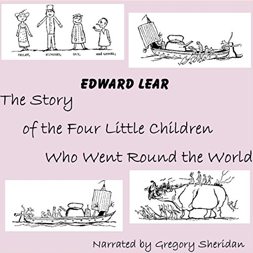 The Story of the Four Little Children Who Went Round the World audiobook cover art