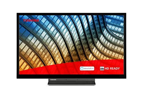 Toshiba 24WK3C63DB 24-inch, HD Ready, Freeview Play, Smart TV, Alexa Built-in (2021 Model)
