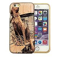 301-sanmaruichi- iPhone12Pro ケース 木製 アイフォン 12 pro ケース おしゃれ 天然木製 ウッド 木目 犬 愛犬家 かっこいい B