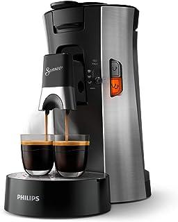 Philips Senseo Select CSA250/10 kapsüllü kahve makinesi (Crema Plus, kahve sertliği seçimi Plus, hafıza fonksiyonu) fırçal...