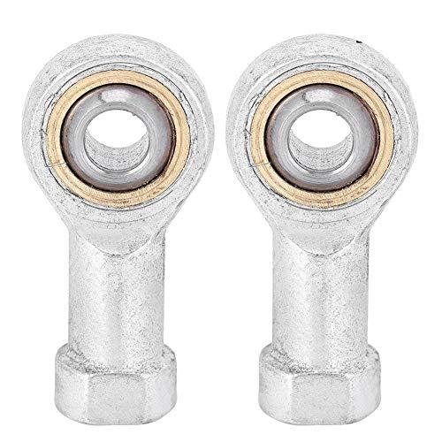 Fafeicy Rodamiento articulado 2pcs SI8T/K Rosca Hembra Extremos de Varilla Rodamiento Conjunto para maquinaria de construcción de instrumentación