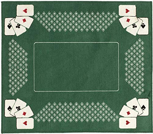 Partie Card Tapis, 100% Viscose, Vert, 58x70 cm