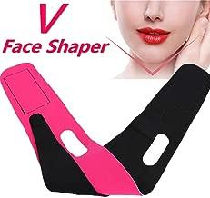Pink Face Slimming Band, Enshey V Shape Face Lift-up Anti Wrinkle Band Belt Lady Facial Slimming Anti-Aging Strap Mask Cheek Slim Beauty Tool