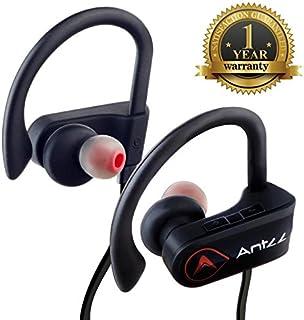 Bluetooth Headphones, Antzz Wireless Sports Earphones w/Mic IPX7 Waterproof HD Stereo Sweatproof in Ear Earbuds for Gym Ru...