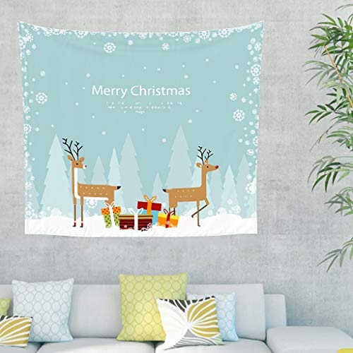 NC83 kerstshirt patroon wandbehang creatief design klein buitenplafond - eland voor kerstdecoratie