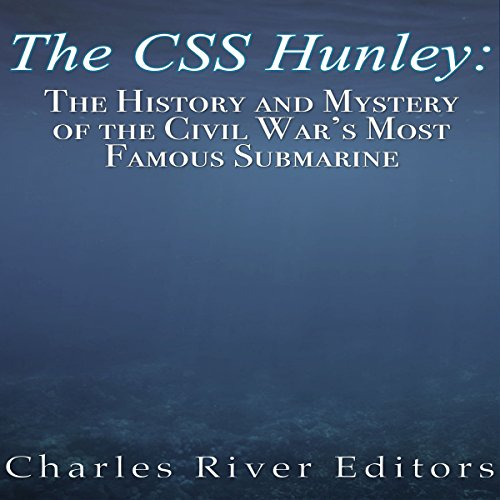 The CSS Hunley audiobook cover art
