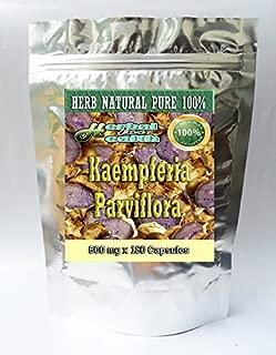Kaempferia Parviflora-Black Ginger-Black Galangal-krachai Dum in Thai 500 Mg. 360 Caps.from Thailand