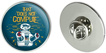 GRAPHICS & MORE Does Not Compute B9 Robot Lost in Space Metal 1.1